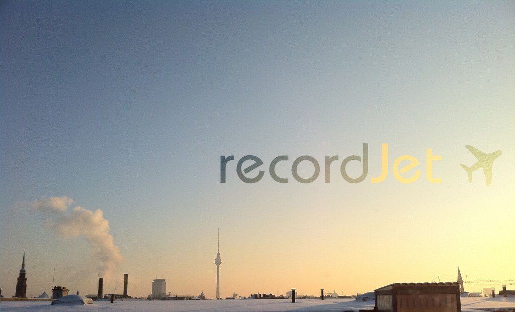 recordJet over Berlin