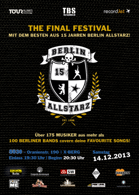 recordJet presents Berlin Allstarz Festival