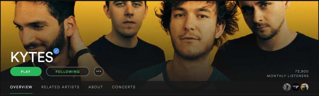 Kytes Banner Spotify | recordJet