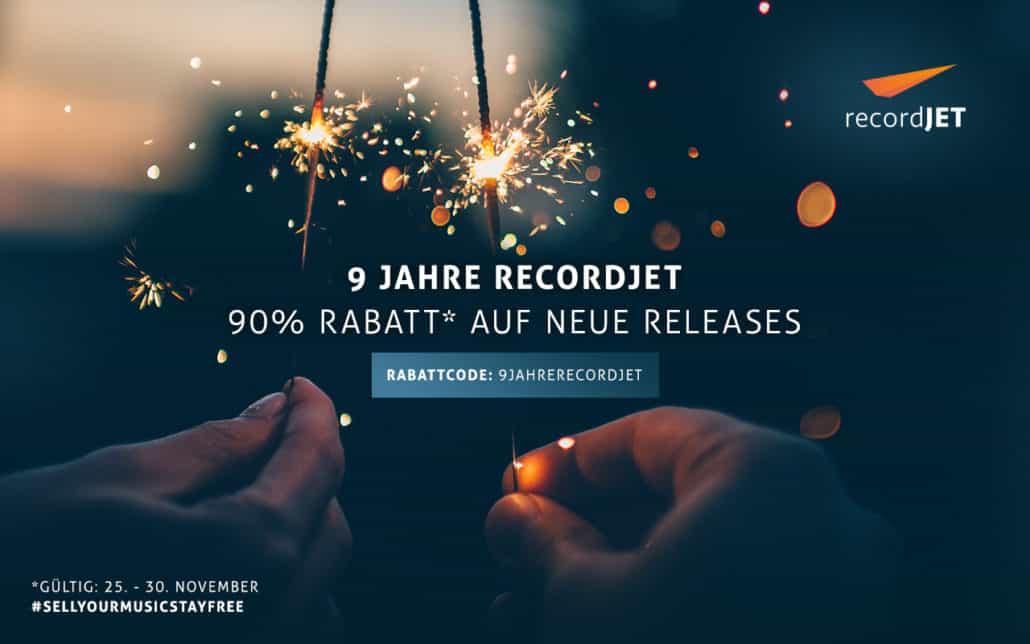 recordJet | Birthday Banner