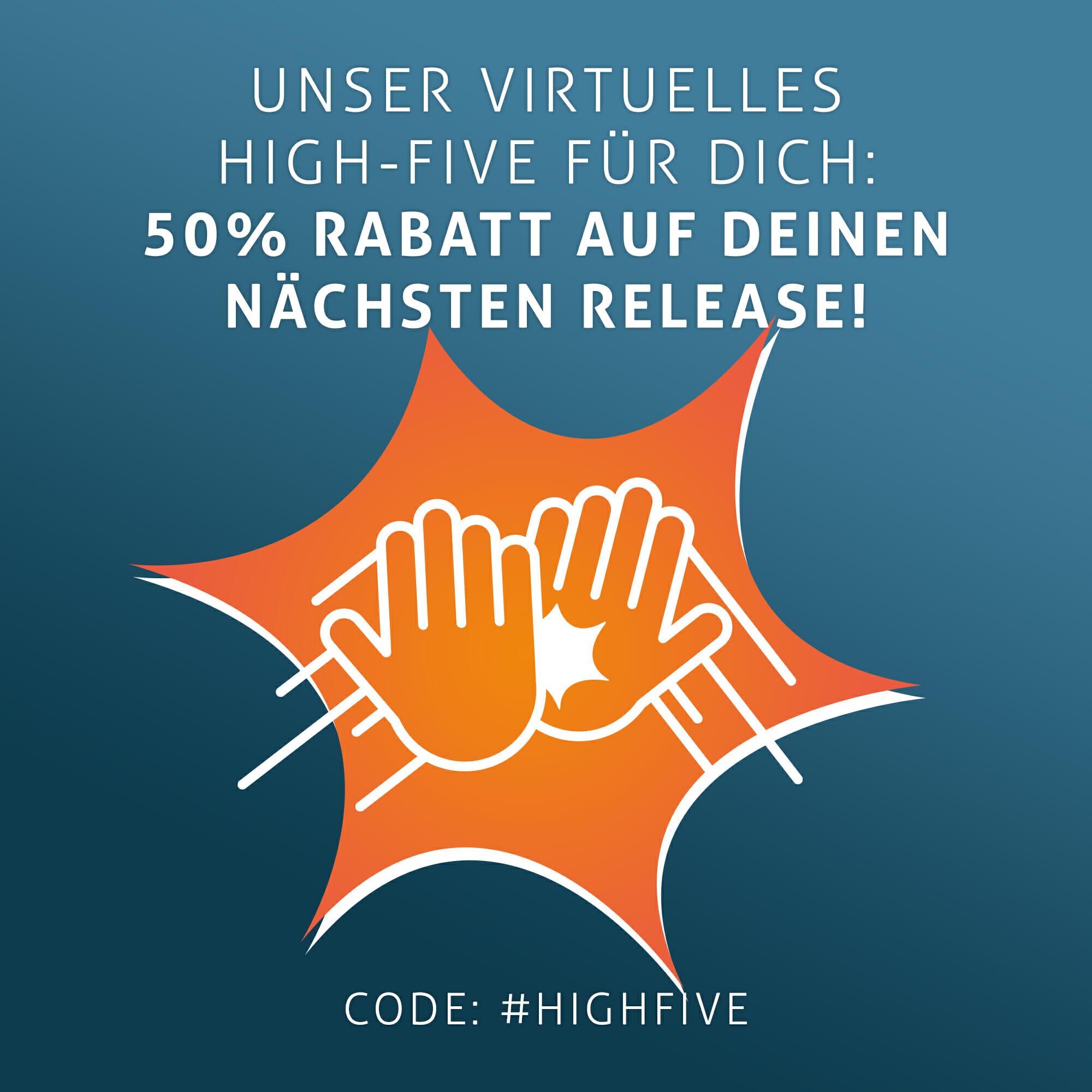 High Five Rabatt