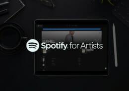 Spotify for Artists Anzeigebild