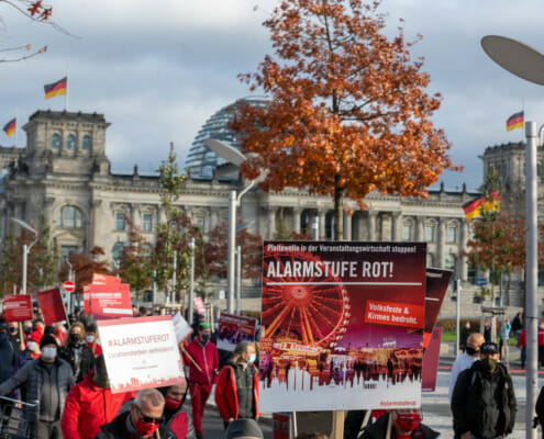 Alarmstufe Rot Demonstration