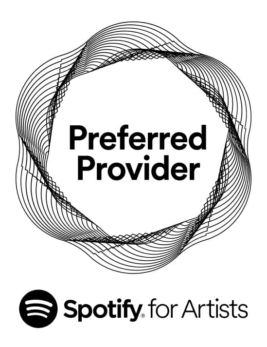 Spotify for Artists Preferred Provider Logo